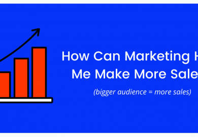 How Can Marketing Help Me Make More Sales?